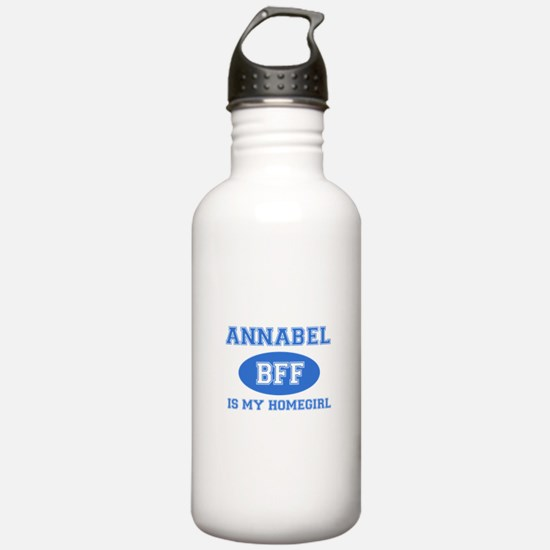Annabel is my home girl bff designs Sports Water Bottle