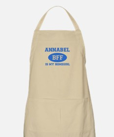 Annabel is my home girl bff designs Apron
