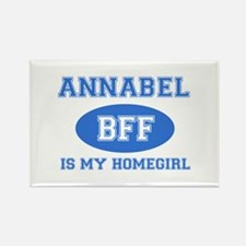 Annabel is my home girl bff designs Rectangle Magn