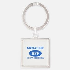 Annalise is my home girl bff designs Square Keycha