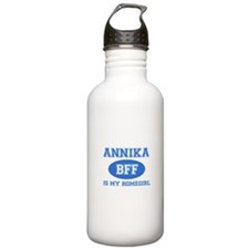 Annika is my home girl bff designs Sports Water Bottle