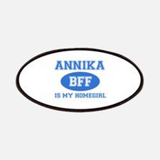 Annika is my home girl bff designs Patches