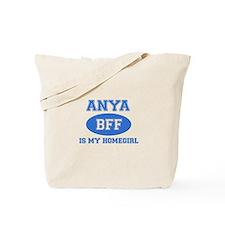 Anya is my home girl bff designs Tote Bag
