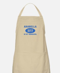 Arabella is my home girl bff designs Apron