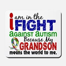 In The Fight 2 Autism Mousepad