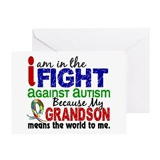 In The Fight 2 Autism Greeting Card