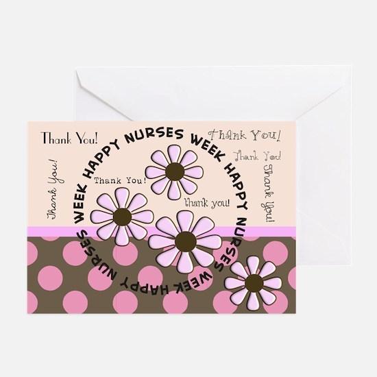 happy nurse week 99 Greeting Cards (Pk of 10)
