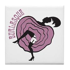 Burlesque Tile Coaster