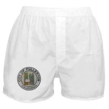 City of Fullerton, California Boxer Shorts