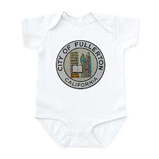 City of Fullerton, California Infant Bodysuit