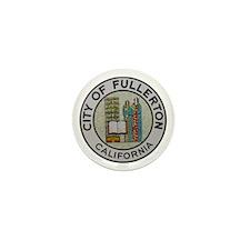 City of Fullerton, California Mini Button