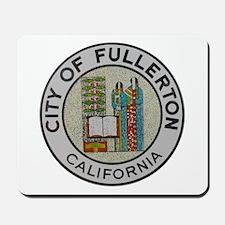 City of Fullerton, California Mousepad