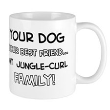 Jungle Curl Cat designs Mug