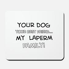 Laperm Cat designs Mousepad