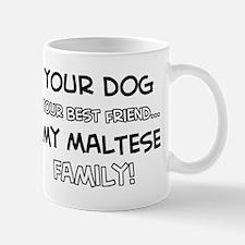 Maltese Cat designs Mug