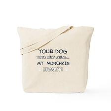 Munchkin Cat designs Tote Bag