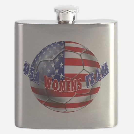 US Womens Soccer Flask