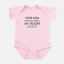 Ocicat Cat designs Infant Bodysuit