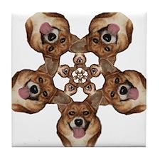 Geo Mercy Flower 5 Tile Coaster