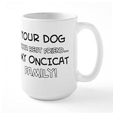 Oncicat Cat designs Mug