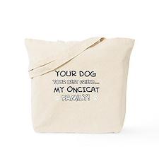 Oncicat Cat designs Tote Bag