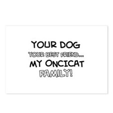 Oncicat Cat designs Postcards (Package of 8)
