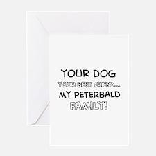 Peterbald Cat designs Greeting Card