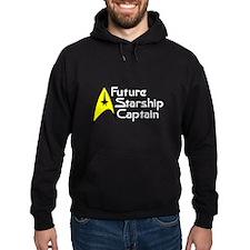 Future Starship Captain Hoodie