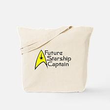 Future Starship Captain Tote Bag