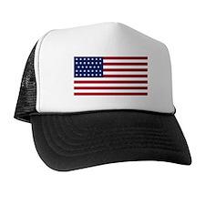 US - 34 Stars Flag Trucker Hat