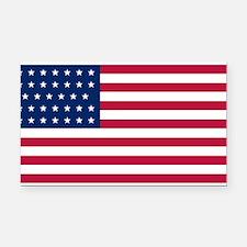 US - 34 Stars Flag Rectangle Car Magnet