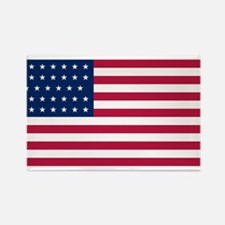 US - 34 Stars Flag Rectangle Magnet (10 pack)