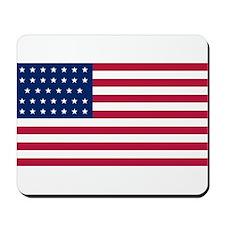 US - 34 Stars Flag Mousepad