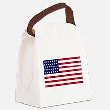 US - 34 Stars Flag Canvas Lunch Bag