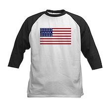 US - 34 Stars Flag Baseball Jersey
