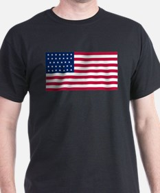 US - 34 Stars Flag T-Shirt
