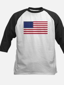 US - 35 Stars Flag Baseball Jersey