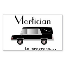 Mortician in progress Decal