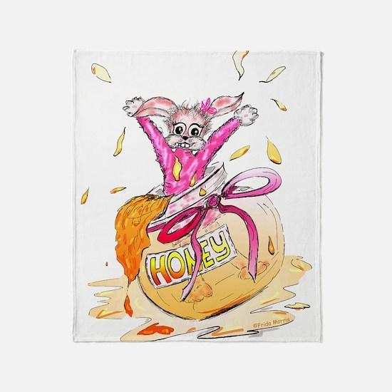 HoneyBunny Honey Bunny Throw Blanket