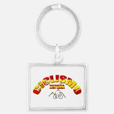 Spain Cycling Keychains
