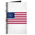 US - 38 Stars Concentric Circles Flag Journal