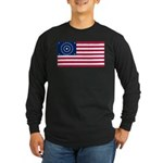 US - 38 Stars Concentric Circles Flag Long Sleeve