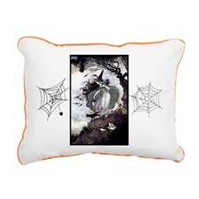 All Hallow's Witch Rectangular Canvas Pillow
