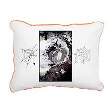 All Hallow's Witch Rectangular Canvas Pillow