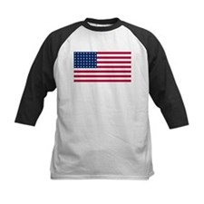 US - 48 Stars Flag Baseball Jersey