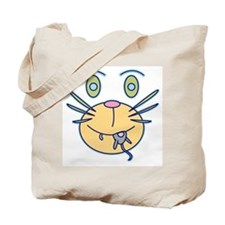 Snack Cat Cartoon Tote Bag