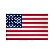 US - 50 Stars Flag Rectangle Magnet