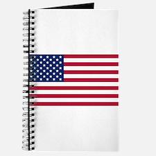 US - 50 Stars Flag Journal