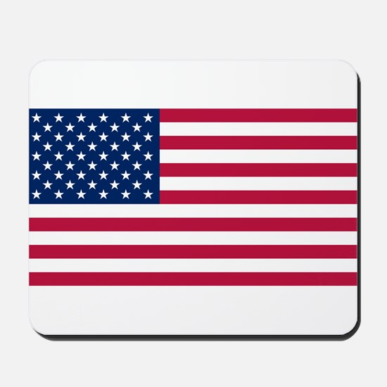 US - 50 Stars Flag Mousepad