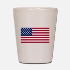 US - 50 Stars Flag Shot Glass
